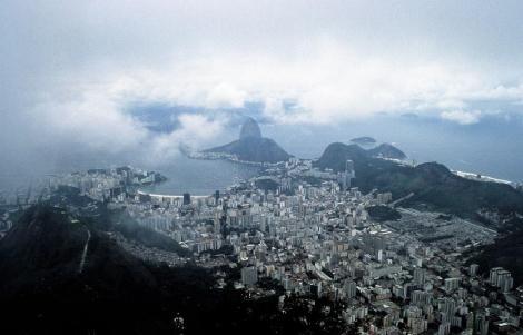 Rio de Janeiro: Blick vom Corcovado (2003)