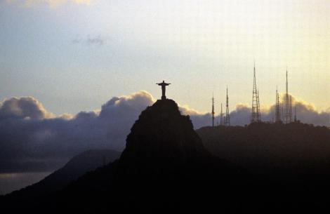 Rio de Janeiro: Blick vom Zuckerhut zum Corcovado (2003)