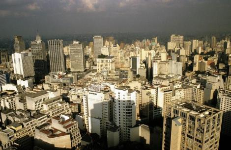 São Paulo: Blick vom Edificio Italia (2003)