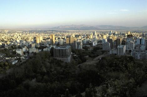 Teheran: Blick über die Stadt (2007)