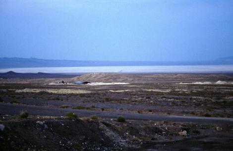 Salzsee nördlich von Ghom (2007)