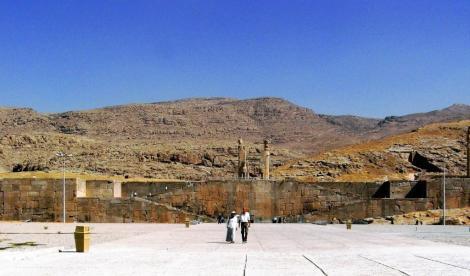 Persepolis: Blick auf die Terrasse (2007)