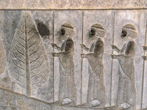 Persepolis: Apadana - Relief an der Osttreppe - Lanzenträger (2007)