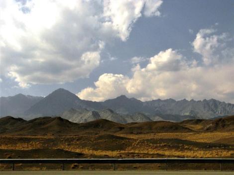 Landschaft nordwestlich von Natanz (2007)