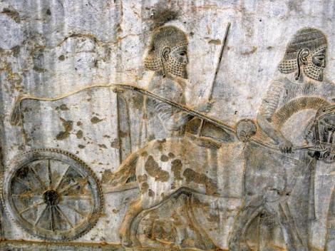 Persepolis: Apadana - Relief an der Osttreppe [Lyder] (2007)