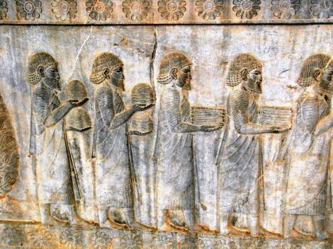 Persepolis: Apadana - Relief an der Osttreppe [Ionier] (2007)