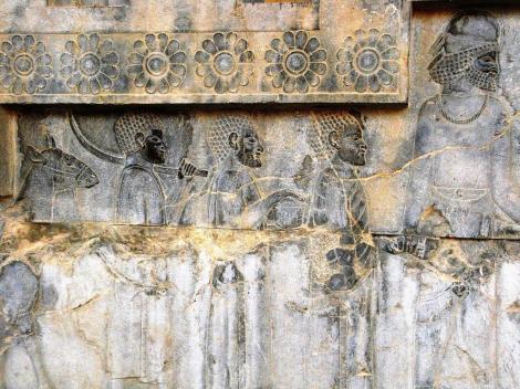 Persepolis: Apadana - Relief an der Osttreppe [Äthiopier] (2007)
