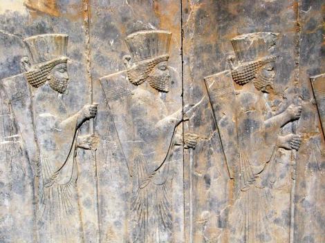 Persepolis: Wohnpalast des Darius - Sockelrelief (2007)