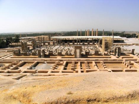 Persepolis: Küchen - Hundertsäulensaal - Apadana (2007)