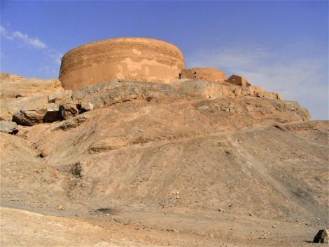 Yazd: Zoroastrier-Friedhof - Turm des Schweigens (2007)