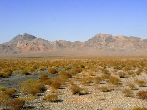 Landschaft westlich von Abarkuh (2007)