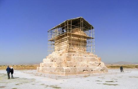 Pasargadae: Grab des Kyros