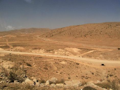 Wüstenlandschaft bei Pasargadae (2007)