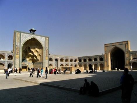 Isfahan: Freitagsmoschee - Innenhof (2007)
