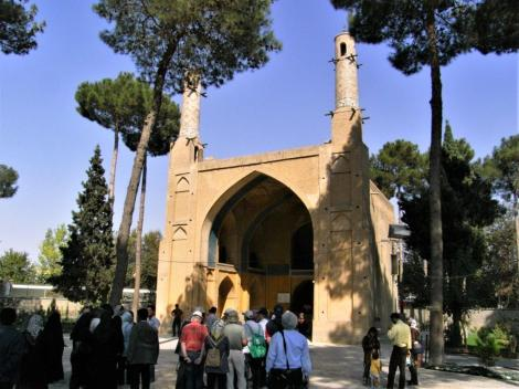 Schwingende Minarette in Isfahan