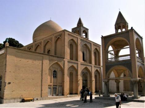 Vank-Kathedrale im Armenierviertel Jolfa in Isfahan
