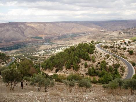Gadara: Blick zu den Golanhöhen (2006)