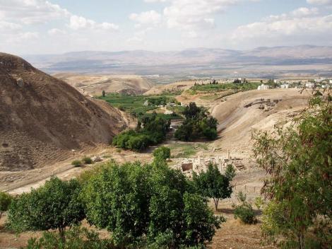Pella: Blick in den Jordangraben (2006)