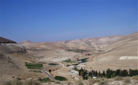 Landschaft zwischen Wala und Dhiban (2006)
