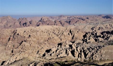 Landschaft von Petra (2006)