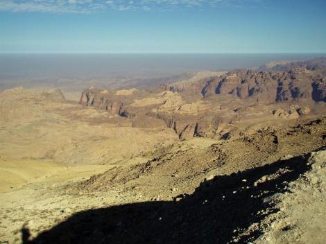 Blick ins Wadi Araba [Senke zwischen Totem Meer und Golf von Akaba] (2006)