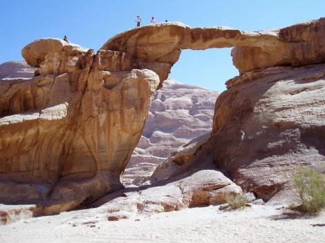 Wadi Rum: Große Felsbrücke (2006)