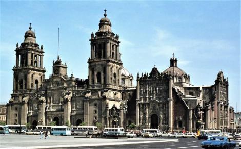 Mexiko-Stadt: Kathedrale (1980)