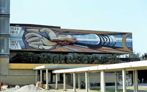 Mexiko-Stadt: Universität (1980)