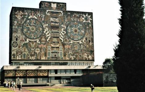 Mexiko-Stadt: Universitätsbibliothek (1980)