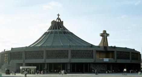Mexiko-Stadt: Wallfahrtskirche Guadalupe - neue Basilika (1980)