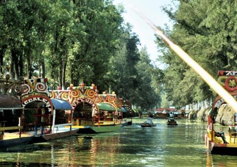 """Xochimilco: """"Schwimmende Gärten"""" (1980)"""