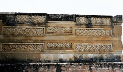 Mitla: Palast der Säulengruppe mit geometrischen Mustern (1980)