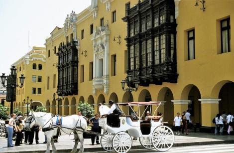 Lima: Plaza Mayor - Rathaus (2005)