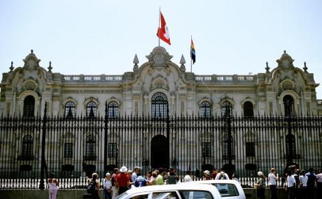 Lima: Plaza Mayor - Regierungspalast (2005)