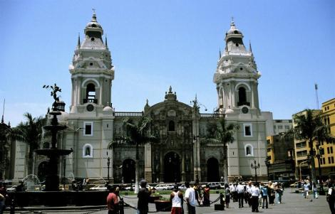 Lima: Plaza Mayor - Kathedrale (2005)