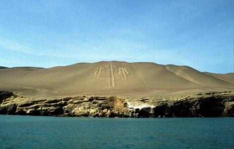 """Halbinsel Paracas: """"El Candelabro"""" (2005)"""