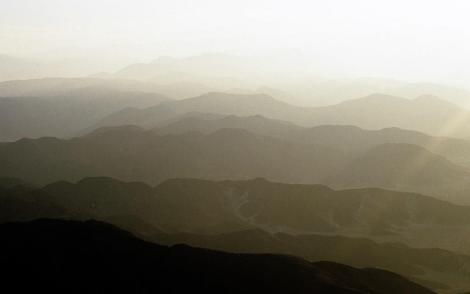 Blick auf die Anden bei Nazca (2005)