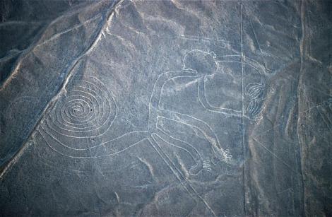 "Nazca: Geoglyphe ""Affe"" (2005)"