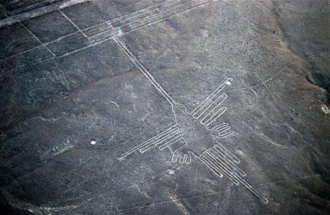 "Nazca: Geoglyphe ""Kolibri"" (2005)"