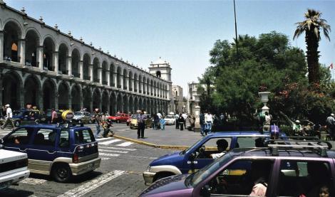 Arequipa: Hauptplatz (2005)