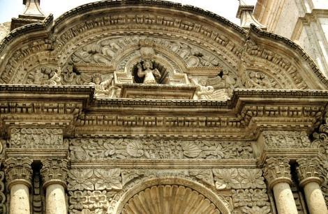 Arequipa: Jesuitenkirche La Compañia de Jesús (2005)