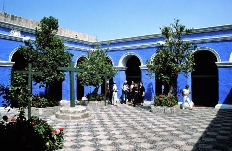 Arequipa: Kloster Santa Catalina - Orangenhof (2005)
