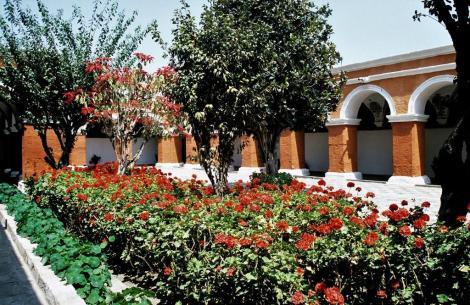 Arequipa: Kloster Santa Catalina - Großer Kreuzgang (2005)
