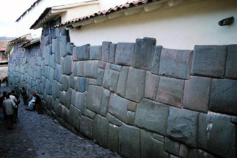 Cuzco: Erzbischöflicher Palast mit Grundmauern aus der Inkazeit (2005)