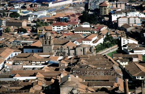 Cuzco: Blick auf das Kloster Santo Domingo (2005)