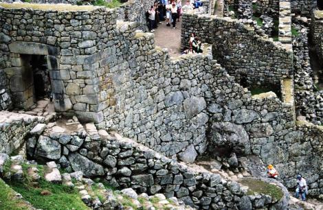 Machu Picchu: Eingangstor (2005)