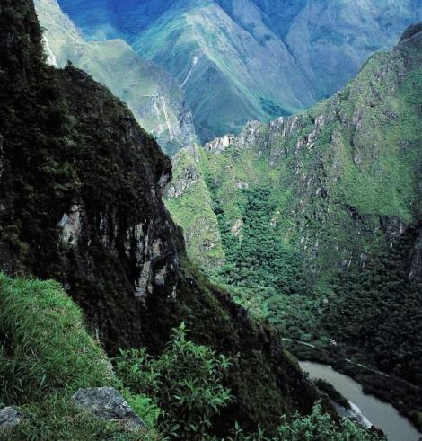 Machu Picchu: Blick ins Urubamba-Tal (2005)