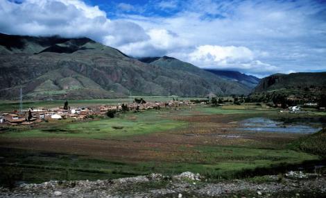 Landschaft südöstlich Cuzco (2005)