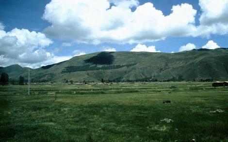 Landschaft bei Raqchi (2005)