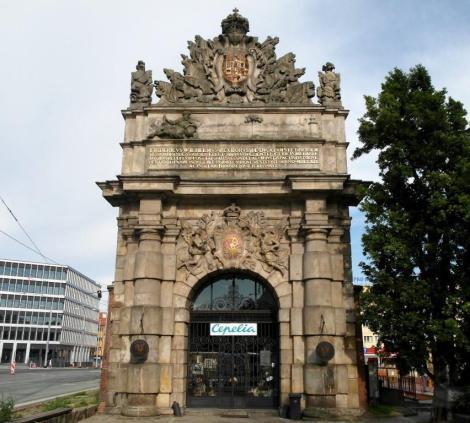 Berliner Tor in Stettin